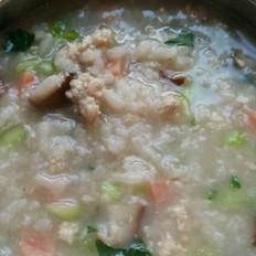 虾皮香菇粥