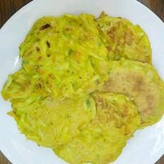 虾皮西葫芦饼