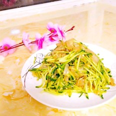 黄瓜拌海蜇