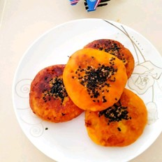 芝麻红薯饼