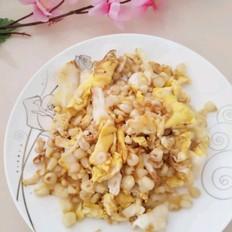 糯玉米炒鸡蛋