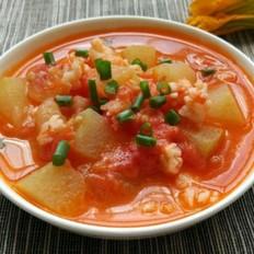 番茄虾仁汤