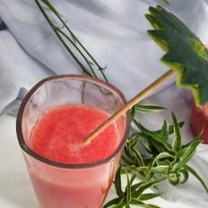 西瓜汁的做法