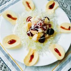 薯片水果沙拉