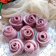 玫瑰花馒头
