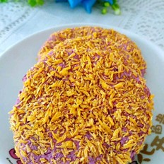 面包糠烤紫薯