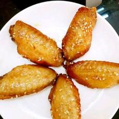 白芝麻烤鸡翅