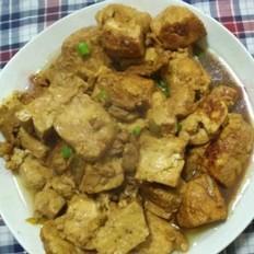 瘦肉炒豆腐