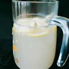 美白柠檬水