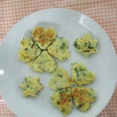 鸡蛋西葫芦饼