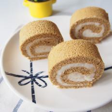 咖啡山药蛋糕卷