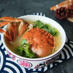 鲜美螃蟹粥