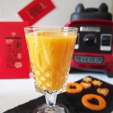 胡萝卜蜜橙汁