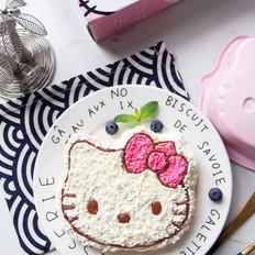 Hello Kitty 奶油蛋糕