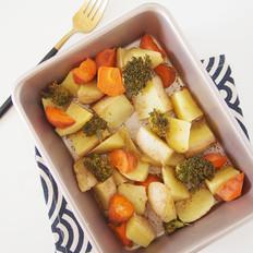 简单美味烤土豆