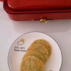 彩蔬金针菇面饼