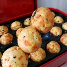 胡萝卜海苔豆腐丸