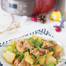 土豆焖鸡块