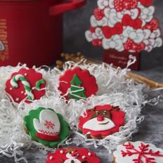 圣诞翻糖饼干