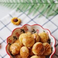 亚麻籽油肉松小酥饼