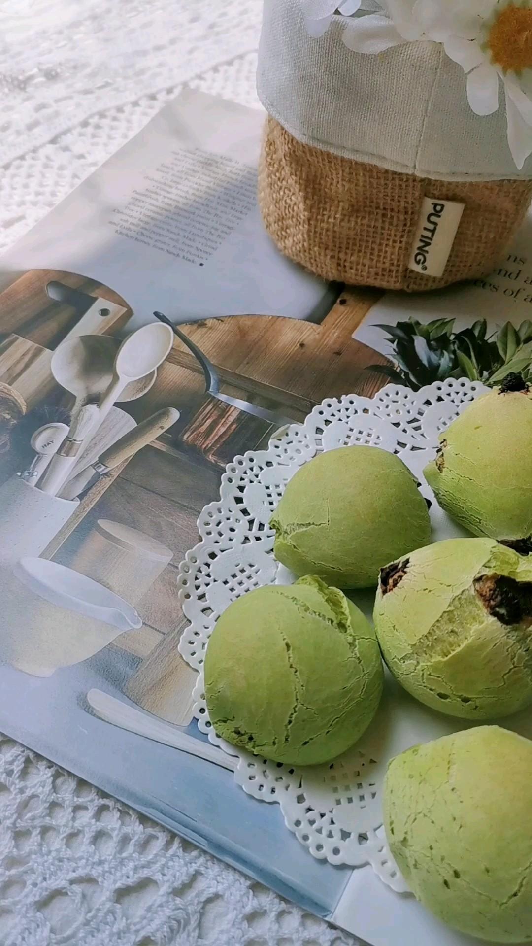 斑斓巧克力麻薯包的做法