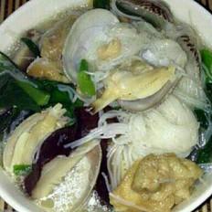花蛤粉丝汤