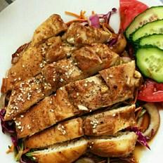 烤鸡肉沙拉