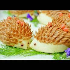 小刺猬豆沙包