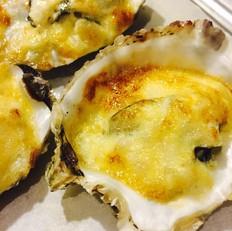 蛋黄酱焗牡蛎