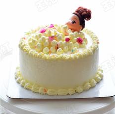 萌娃沐浴蛋糕