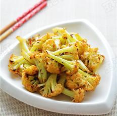 烧烤味干煸菜花
