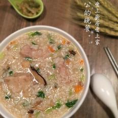 海鲜干芋头粥的做法