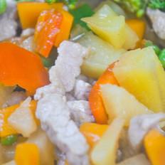 狗狗菜谱:土豆炒猪肉