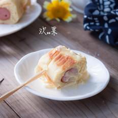 香肠小卷(平底锅版)