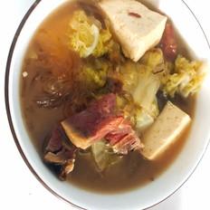 白菜牛肉炖粉条