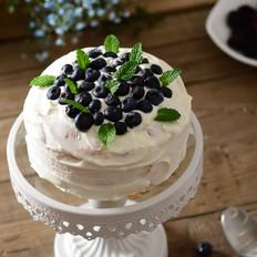 蓝莓奶油电饭煲蛋糕