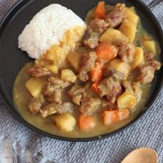 咖喱牛肉饭#秋季美食保胃战#的做法