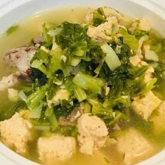 大棒骨炖白菜冻豆腐