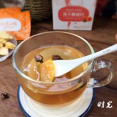 玫瑰黄桃花果茶