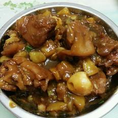 土豆烧猪蹄