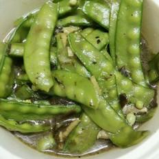 橄榄菜炒荷兰豆