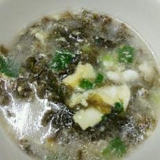 鸡蛋紫菜汤