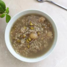 绿豆桂圆粥