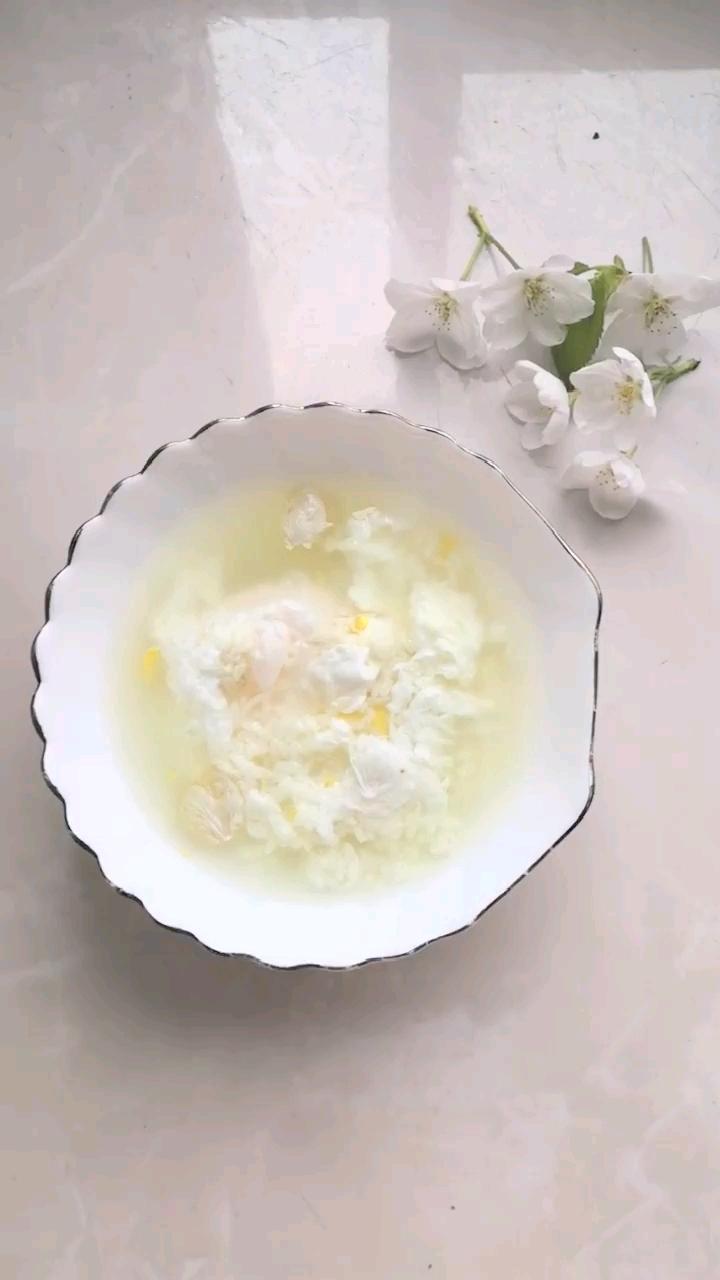 樱花酒酿鸡蛋甜汤的做法