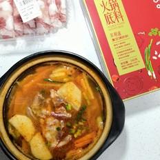 茄汁羊肉火锅