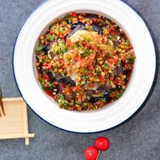 海鲜捞汁蒸时蔬