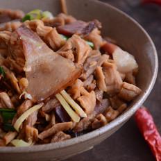 萝卜炒腊肉