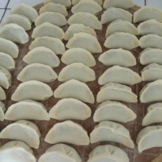 青椒猪肉饺子