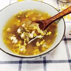 皂米绿豆薏米粥