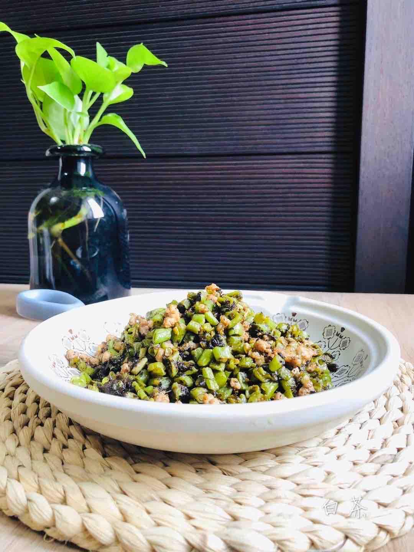 百吃不厌的橄榄菜豆角炒肉沫